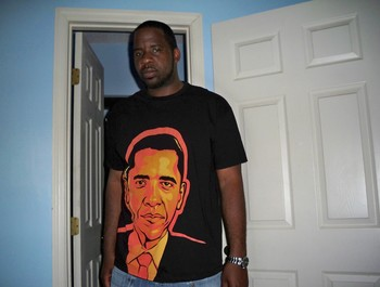 graphxassassin wearing Obama by Cloxboy