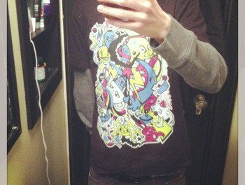 Isaacalec wearing Seasons Doodle by wotto