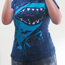 015013 wearing Shark with pixelated teeth! by gloopz
