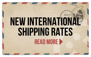 New International Shipping Rates