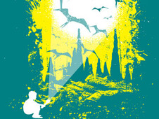 Bat Cave T-Shirt Design by
