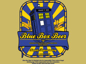 Blue box beer by Bomdesignz