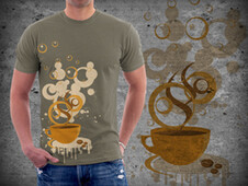 Start a day with ...... T-Shirt Design by