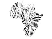 AkshayShah wearing African fingerprint by AkshayShah