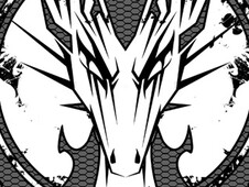 Dragon Crest T-Shirt Design by