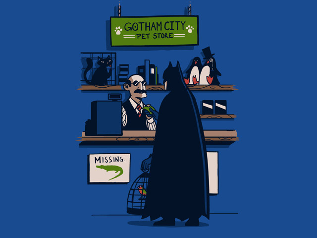 The Dark Knight Gets a New Sidekick