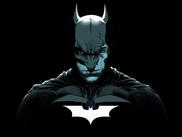 BATMAN BROKEN MASK