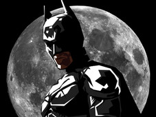 BAT MOON T-Shirt Design by