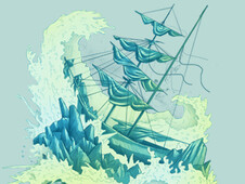 Shipwreck Sonata T-Shirt Design by
