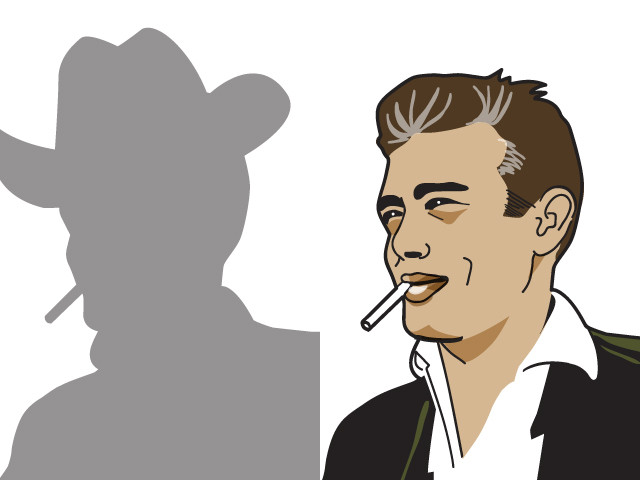James Dean, the Giant