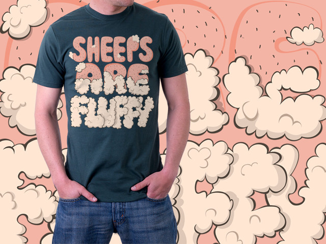 sheeps are fluffy
