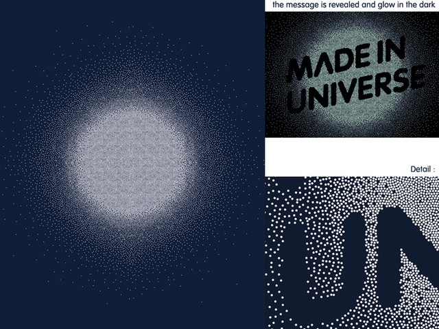 Made in universe, design by hümans.