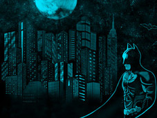 Batman Rises T-Shirt Design by
