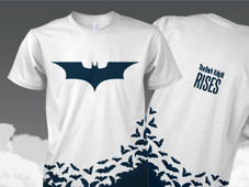 Fly with the bats T-Shirt Design by