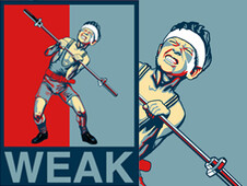 WEAK T-Shirt Design by