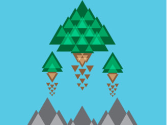 Triangular Forest by MasoDaQueso16