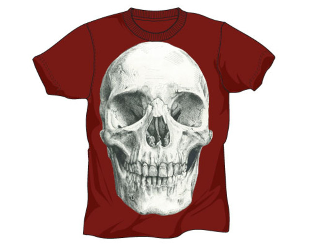 mike stacy skull design