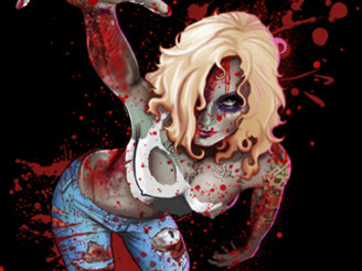 BloodyZombie by leoarts