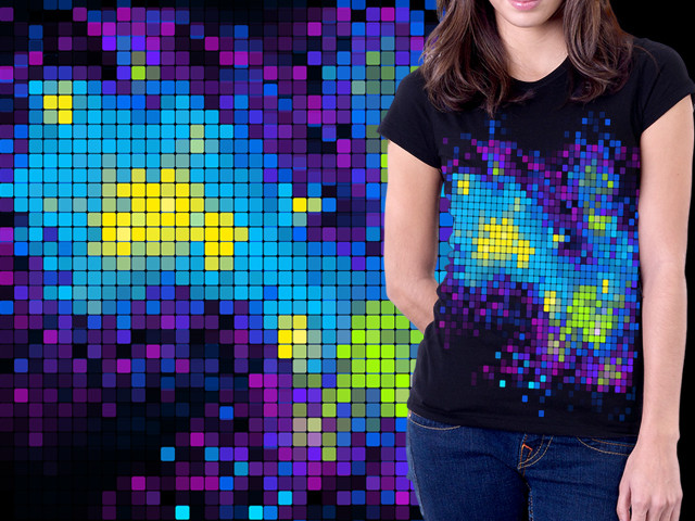 The Pixel Galaxy