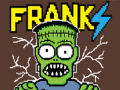 Franki the 8-bit monster by