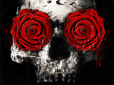 Romantic skull T-Shirt Design by