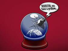 Houston, we have a problem... T-Shirt Design by