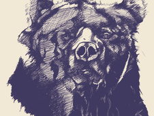 Grizzled T-Shirt Design by