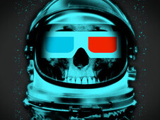 Dead Spaceman T-Shirt Design by