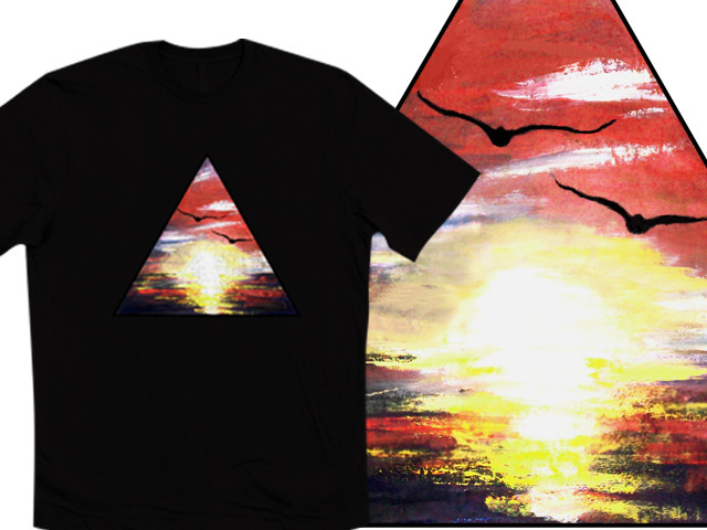 Triangle Sunset