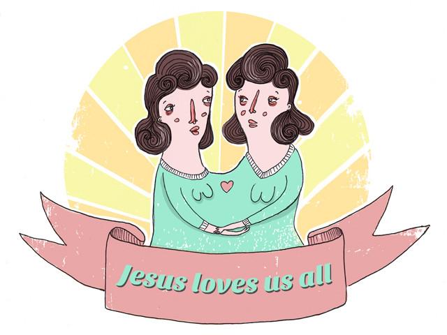 Jesus loves us all
