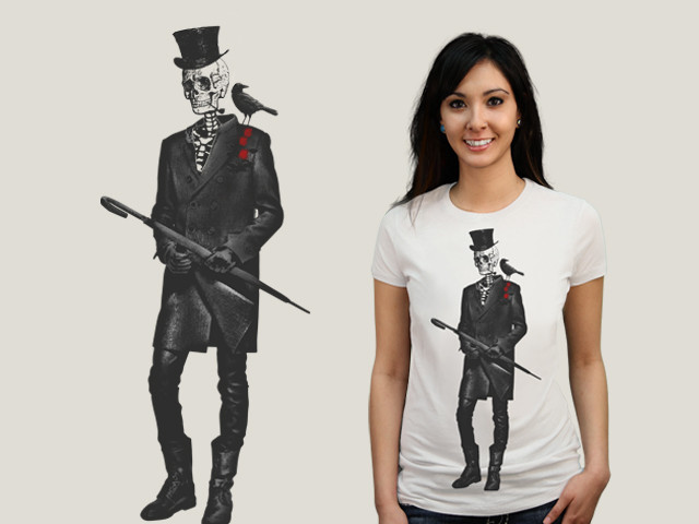 Gentleman Skeleton and Crow