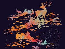 It's rain,my deer. T-Shirt Design by
