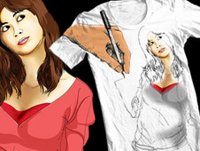 Sketching come real T-Shirt Design by