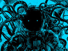 terror from deep space T-Shirt Design by