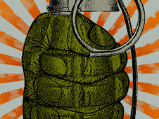 Hand Grenade T-Shirt Design by