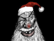 Bad Santa T-Shirt Design by
