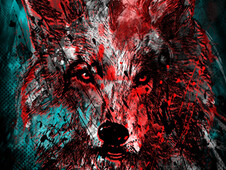 Wolf Pack T-Shirt Design by