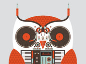 Owl DJ by Exclusive-Ape