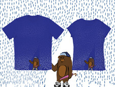 Umbrella are for Girzzles Bears T-Shirt Design by