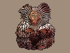 Wise Baviaan T-Shirt Design by