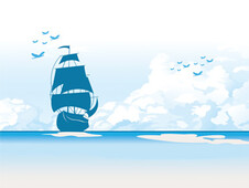 Sailboat T-Shirt Design by
