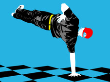 Bboy checkmate T-Shirt Design by