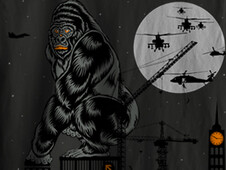 Gorilla T-Shirt Design by