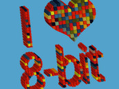 i heart 8 - bit by kharmazero