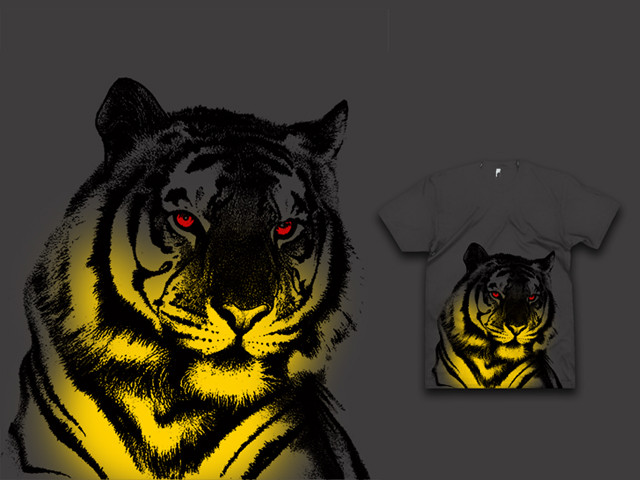 Red-eyed tiger