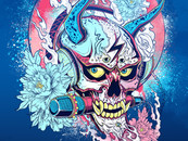Rock and Roll - Rocker Hannya by Seanwei