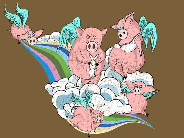 All pigs go to heaven