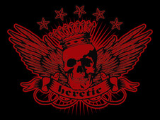 Heretic T-Shirt Design by