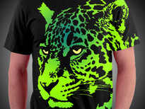 Citrus Jaguar T-Shirt Design by
