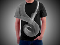 Liquid Vortex T-Shirt Design by
